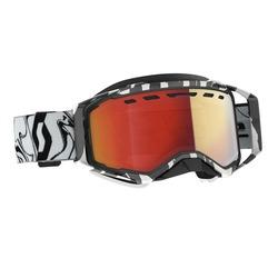 Scott Goggle Prospect Snow Cross LS marble black/white light sensitive red chrom