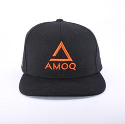 AMOQ ORIGINAL SNAPBACK LIPPIS MUSTA/ORANSSI