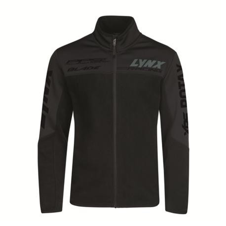 Miesten Lynx Logo Fleece Jacket