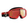 Scott Goggle Hustle Snow Cross red/grey enhancer red chrome